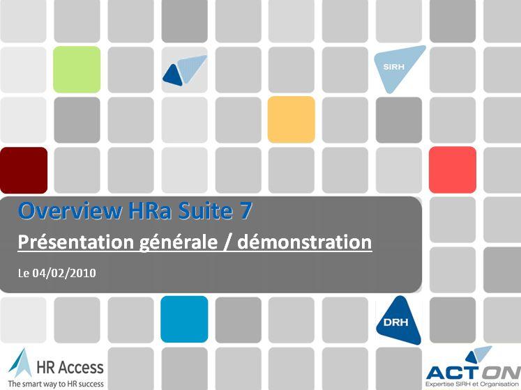 Overview HRa Suite 7 de HR Access Solutions