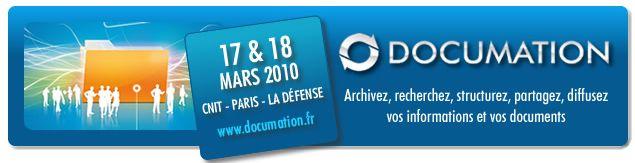 17&18 mars 2010 : le rendez-vous de la gestion de contenu et du document
