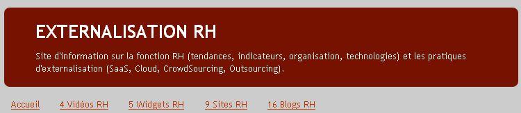 L'externalisation progresse difficilement dans les RH > une GRH encore perfectible