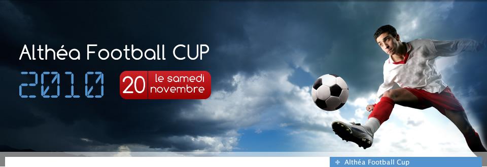 5ème édition de la « Althéa Football Cup » qui rassemblera 12 sociétés SIRH