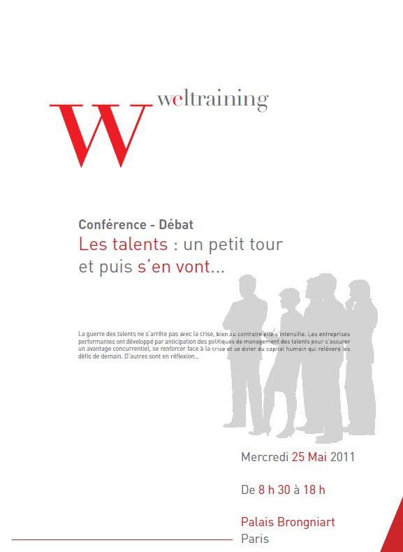 Les talents : un petit tour et puis s'en vont… Conférence – débat le 25/05/2011