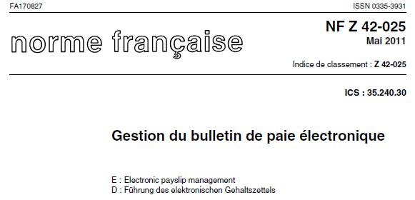 Gestion du bulletin de paie électronique : interview de l'AFNOR