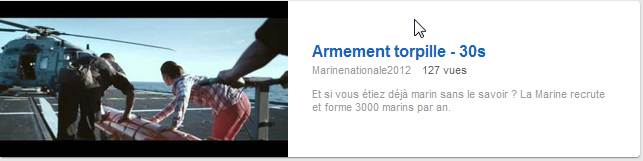 "La Marine Nationale recrute 3000 marins et lance son application facebook ""dans la peau d'un marin"""