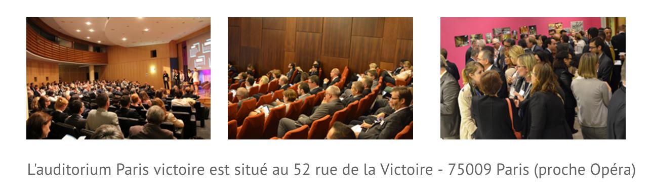 Photos de l'auditorium Paris victoire