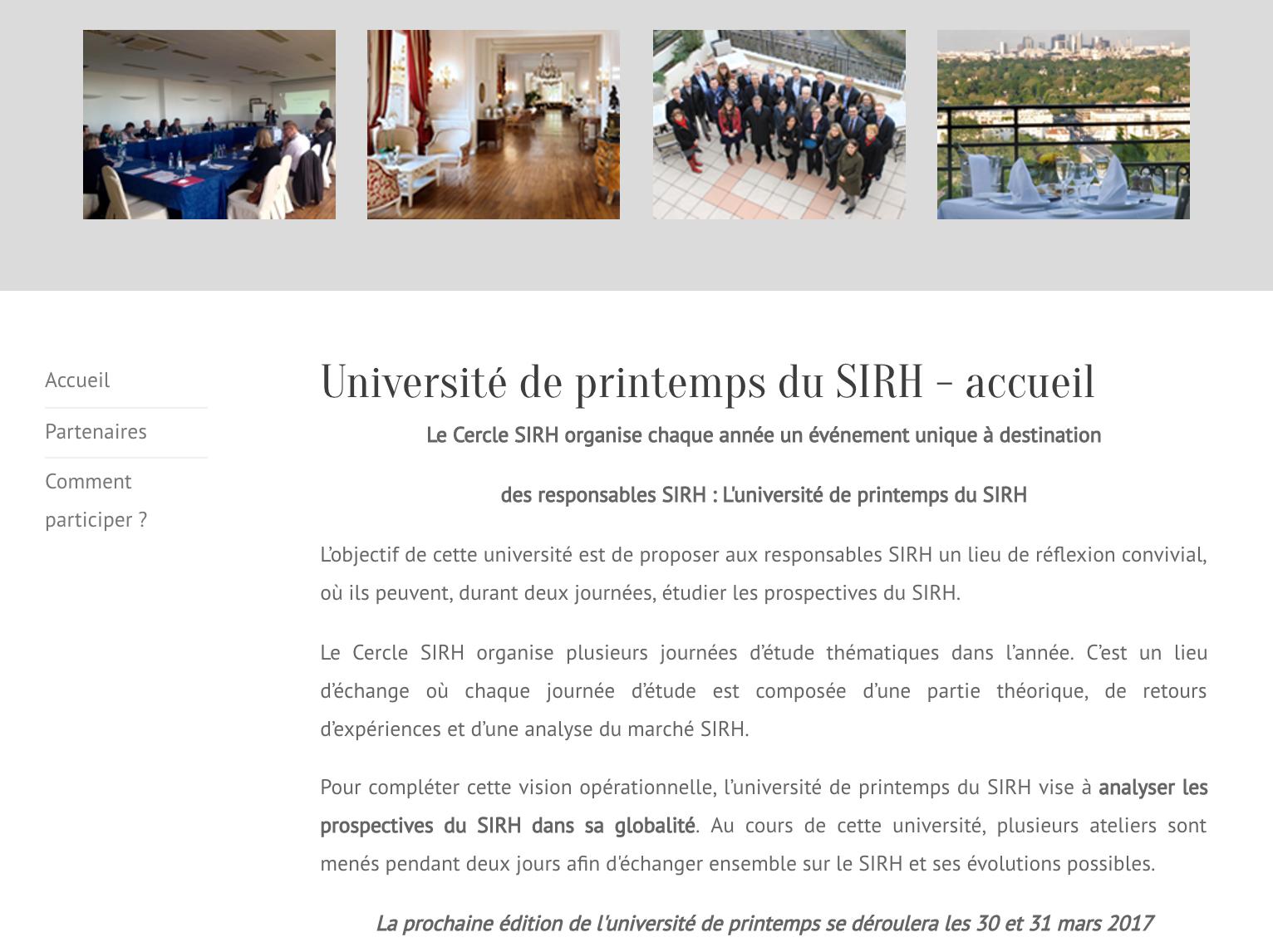 Université Printemps