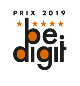 Logo Prix BE.DIGIT 2019