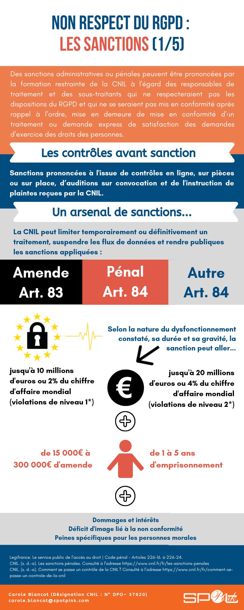 Infographies Rgpd Le Pense Bête Du Dpo Dpd Sur Les